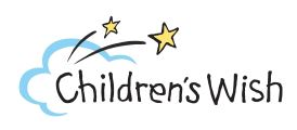 Logo for Children's Wish Foundation