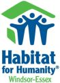 Logo for Habitat for Humanity Windsor-Essex